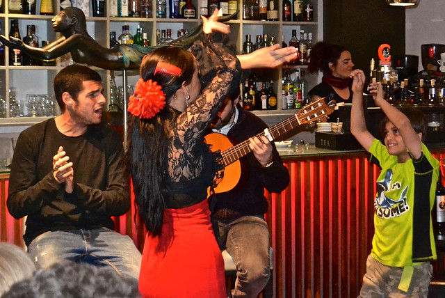 flamenco - restaurante vino mio, malaga spain