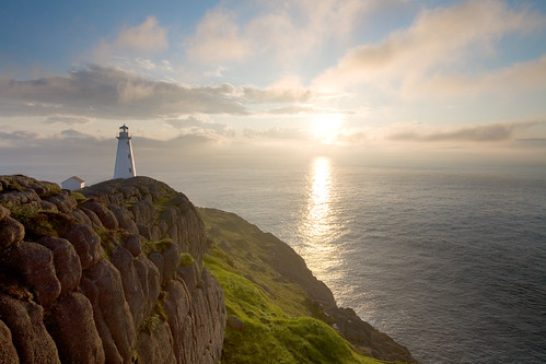 lighthouse canada sunrise newfoundland coast marine atlantic maritime canon5d 1740mm capespear