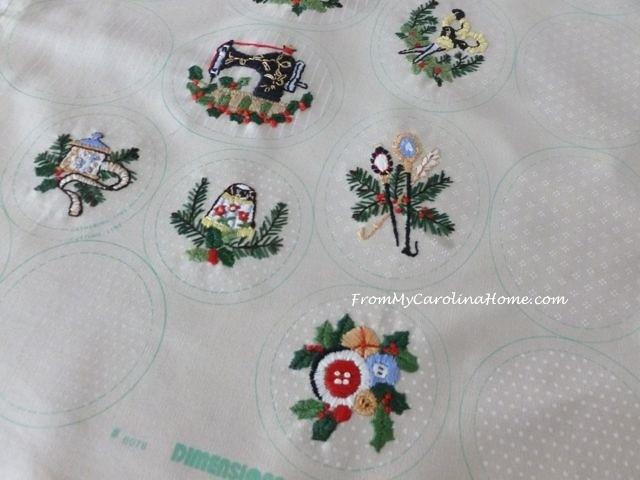 Stitching Ornaments Week 9 - 2