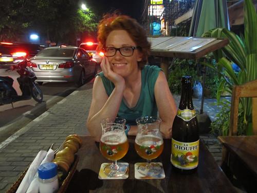 Vientiane: et une bonne Chouffe!