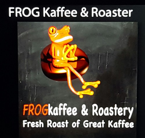 Frog logo | Fresh Roast of Great FROG Kaffee & Roastery Opens in Davao - DavaoFoodTrips.com