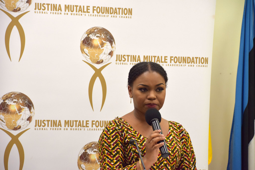 DSC_6276 Justina Mutale Foundation International Day of the Girl Summit European Parliament in the UK Host Fatoumata Diallo