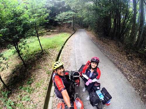 After climbing a small hill. #bikepackingJapan #bikepackingPhilippines