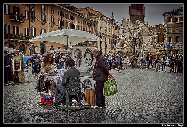 Roma_ Via dei Coronari