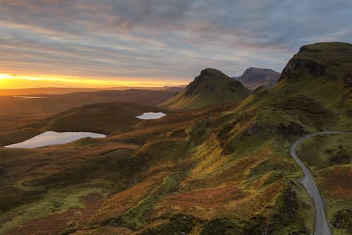 Sunrise over the Trotternish Ridge