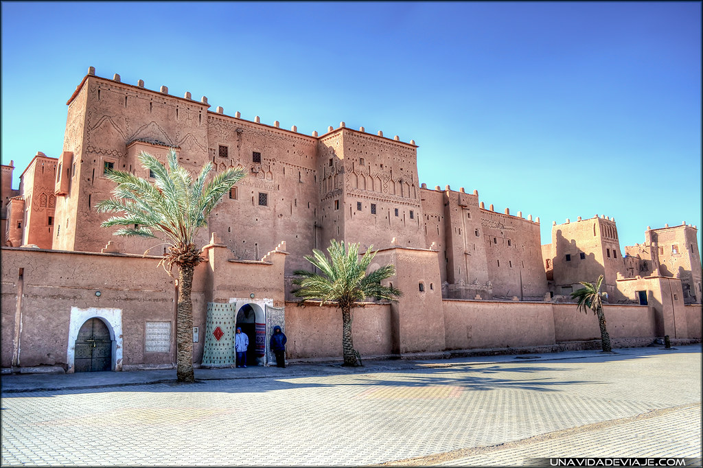 Marruecos sur Ourzazate kasbah Trourirt