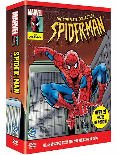 Spider-Man The Animated Series (1994–1998, 65odc) cover