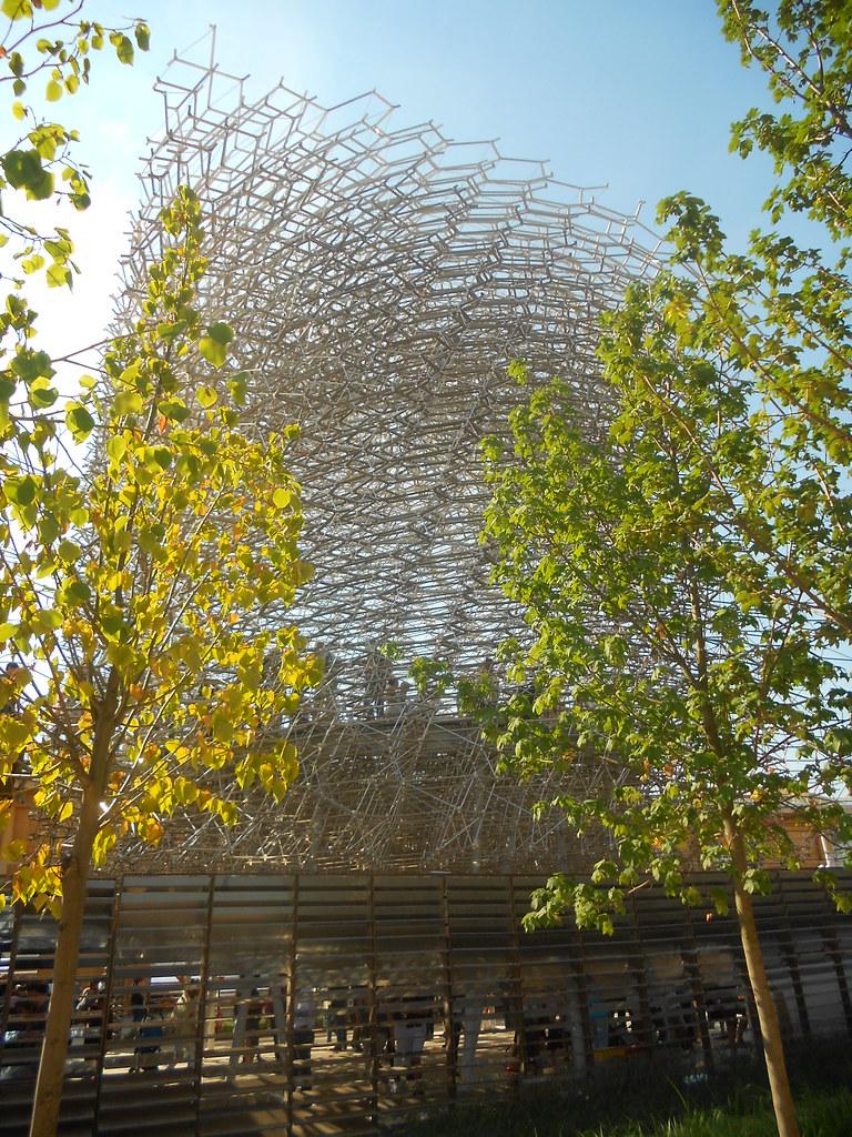 padiglione Regno Unito, EXPO 2015