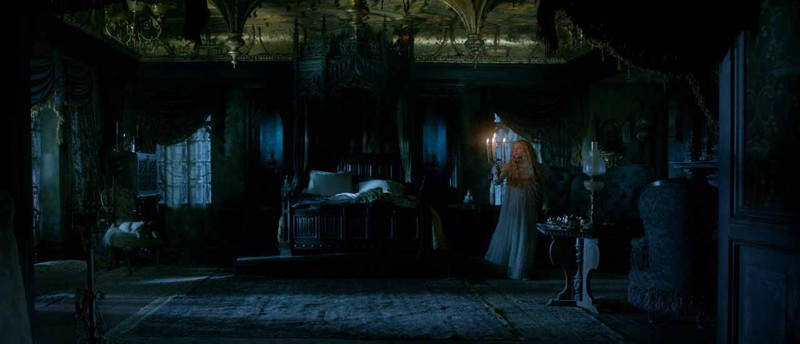Crimson Peak Manor room