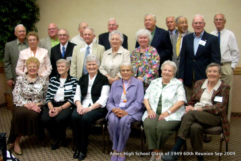 Ames High School Class of 1949 60th Reunion Sep 22 & 23 2009 Ames, IA