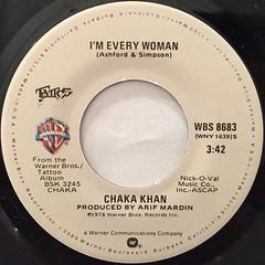 CHAKA KHAN:I'M EVERY WOMAN(LABEL SIDE-A)