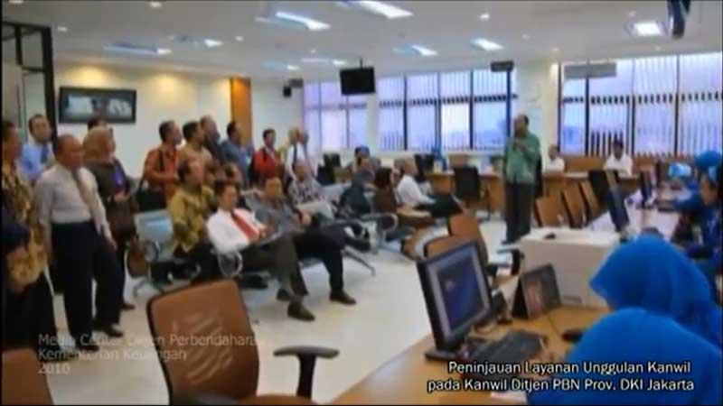 Launching Kanwil Layanan Unggulan DJPB