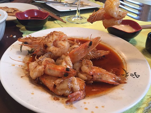 Shrimp at Sakura in Colindres