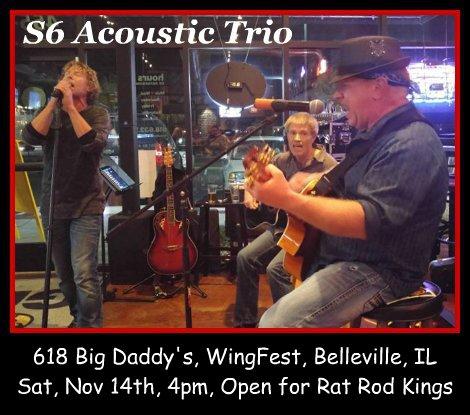 S6 Acoustic Trio 11-14-15