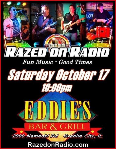 Razed on Radio 10-17-15