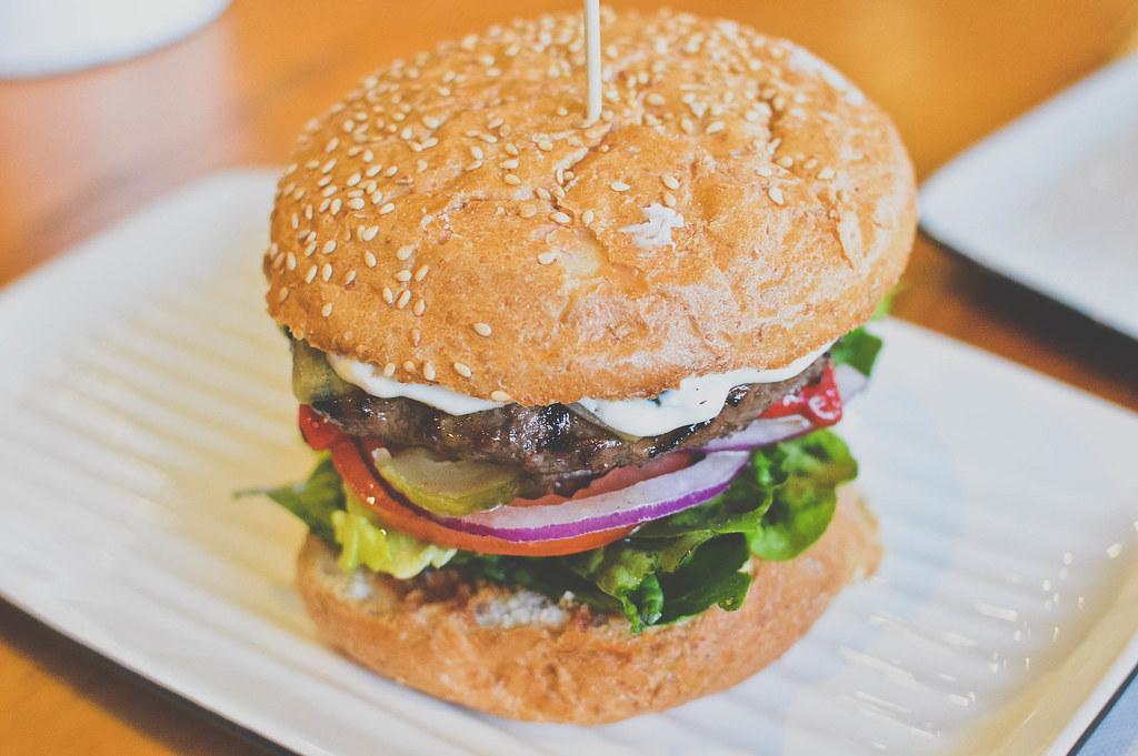 'Hot' Mama Beef Burger