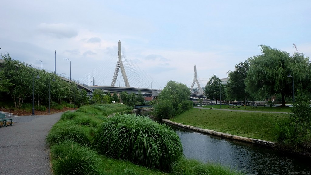 Zakim Bridge, Boston, MA, USA