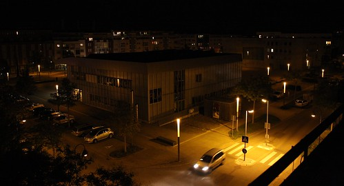 Glashaus / nighttime