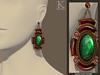 (Kunglers) Philippa earrings - Vendor Emerald