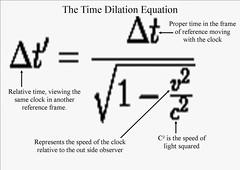 Time+Dilation+Equation