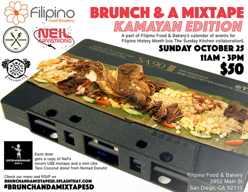 Brunch & A mixtape San Diego