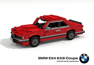 BMW e24 633 CSi Coupe