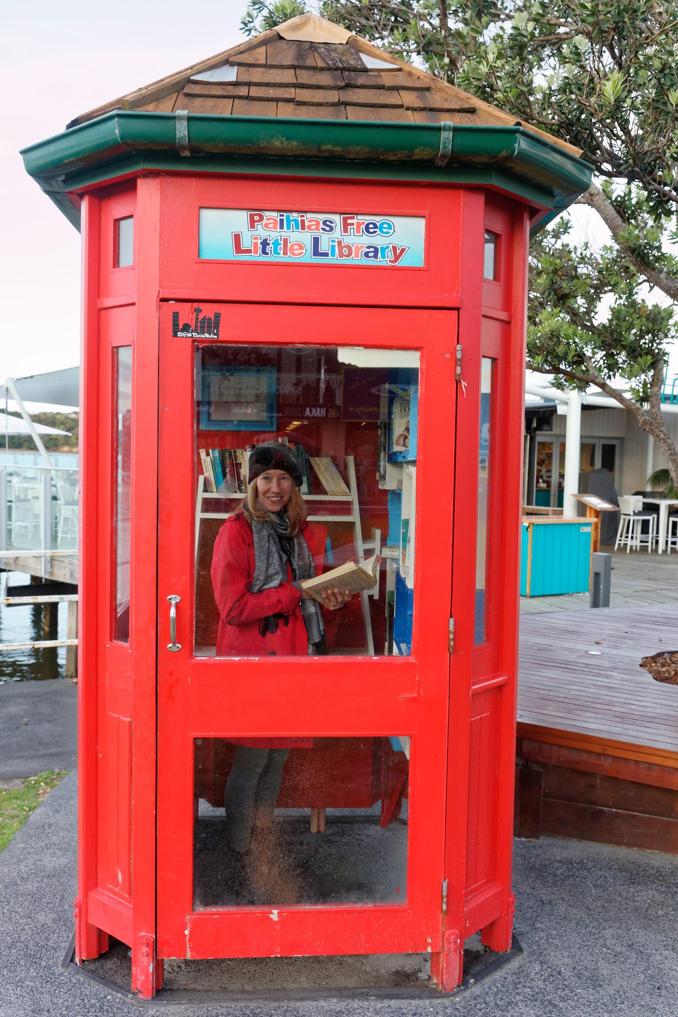 Paihia New Zealand Lending Library