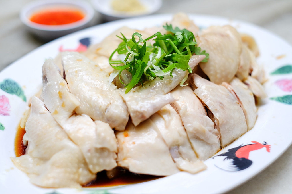 Wee Nam Kee Chicken Rice: poached chicken