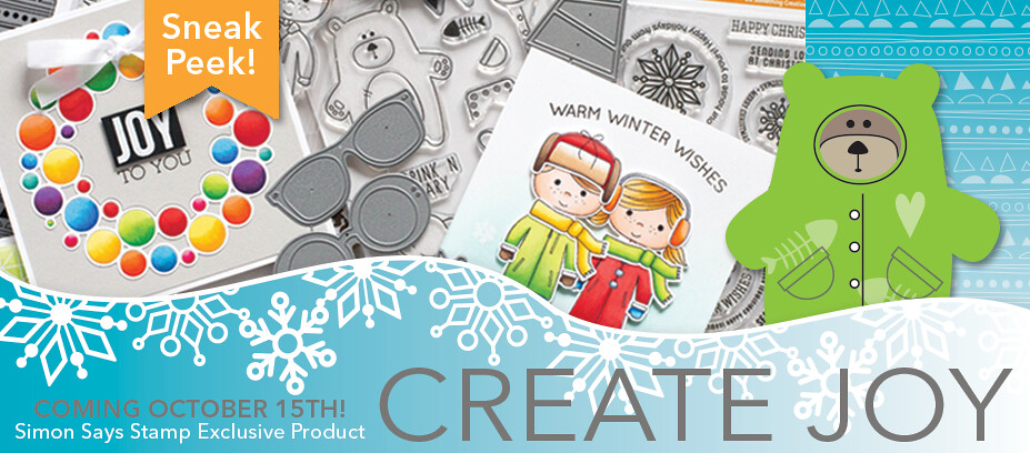 Simon Says Stamp Create Joy sneak peek