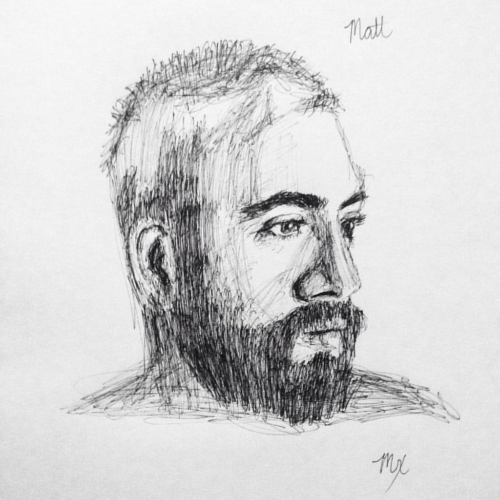 Quick sketch of jmprizzle art drawing sketch artist minxi