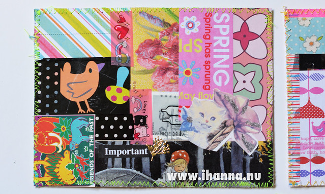DIY Postcard: Spring Swap by iHanna
