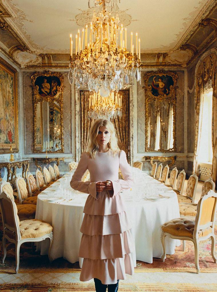 Клеманс Поэзи — Фотосессия для «Harper's Bazaar» UK 2015 – 7