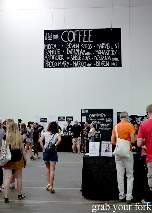 Coffee Pavilion at Rootstock Sydney 2015