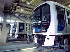 Yurikamome Ariake Yard ゆりかもめ 有明車両基地 検修棟 7300系