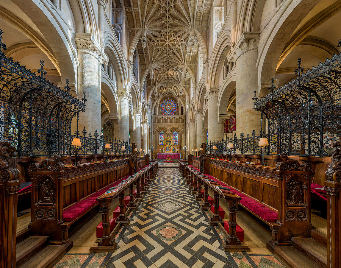 Christ Church Cathedral, Oxford - The Choir. Credit: David Iliff