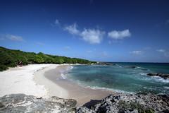 Hidden beach /  Plage de la Douche