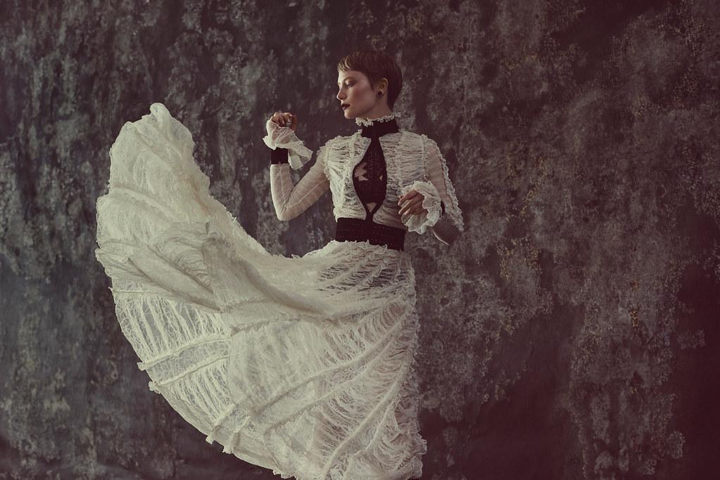 Миа Васиковска — Фотосессия для «Flaunt» 2015 – 4