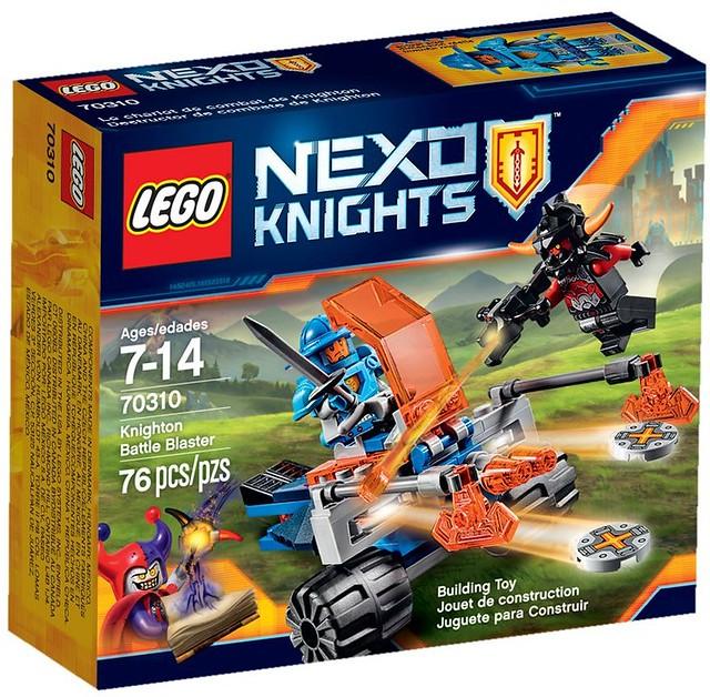 LEGO Nexo Knights 70310 - Knighton Disc Launchers