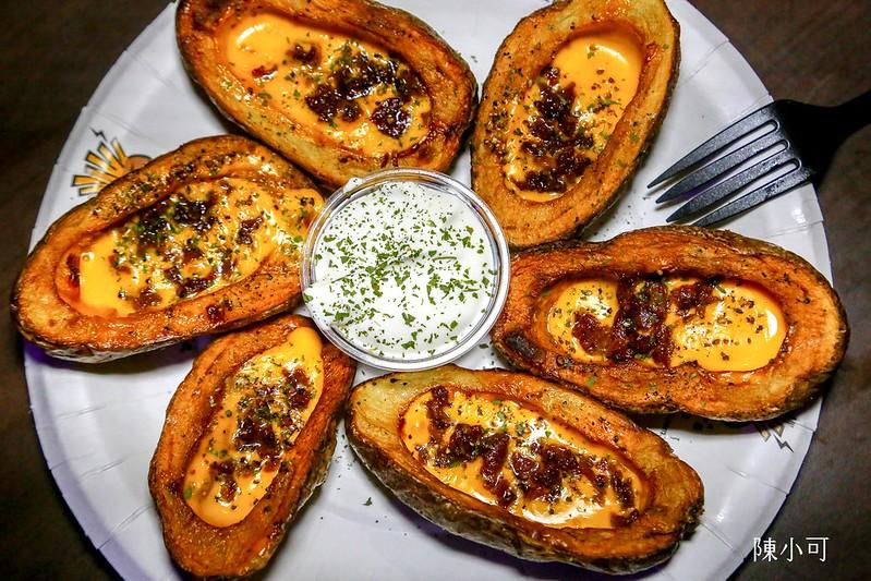 【台北信義區美食】有創意的美國薯條,愛爾蘭瘋薯Ireland's Potato,下班喝酒好去處(信義威秀店)