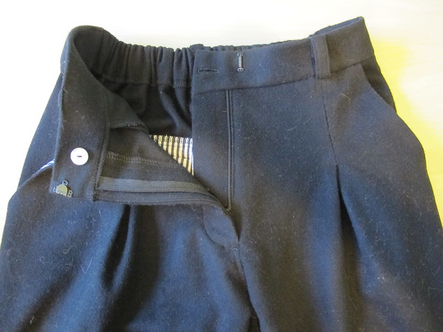 Wool/Cashmere Guise Pants - flat