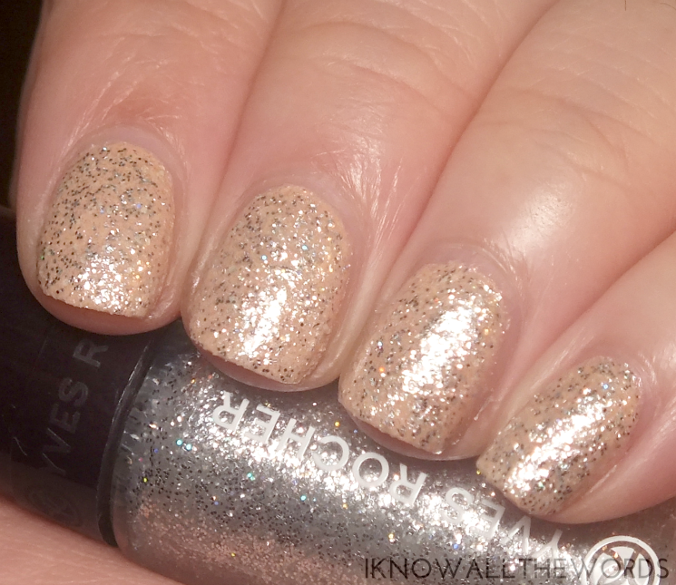 Yves Rocher Holiday 2015 Silver Glitter For Nails (1)
