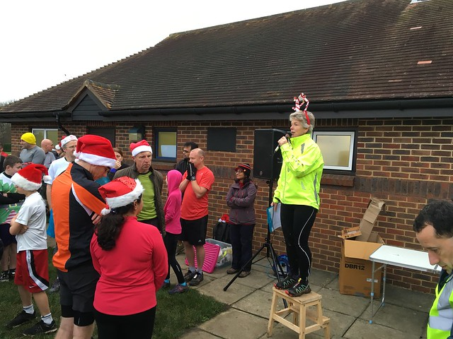 Christmas Day Guildford parkrun