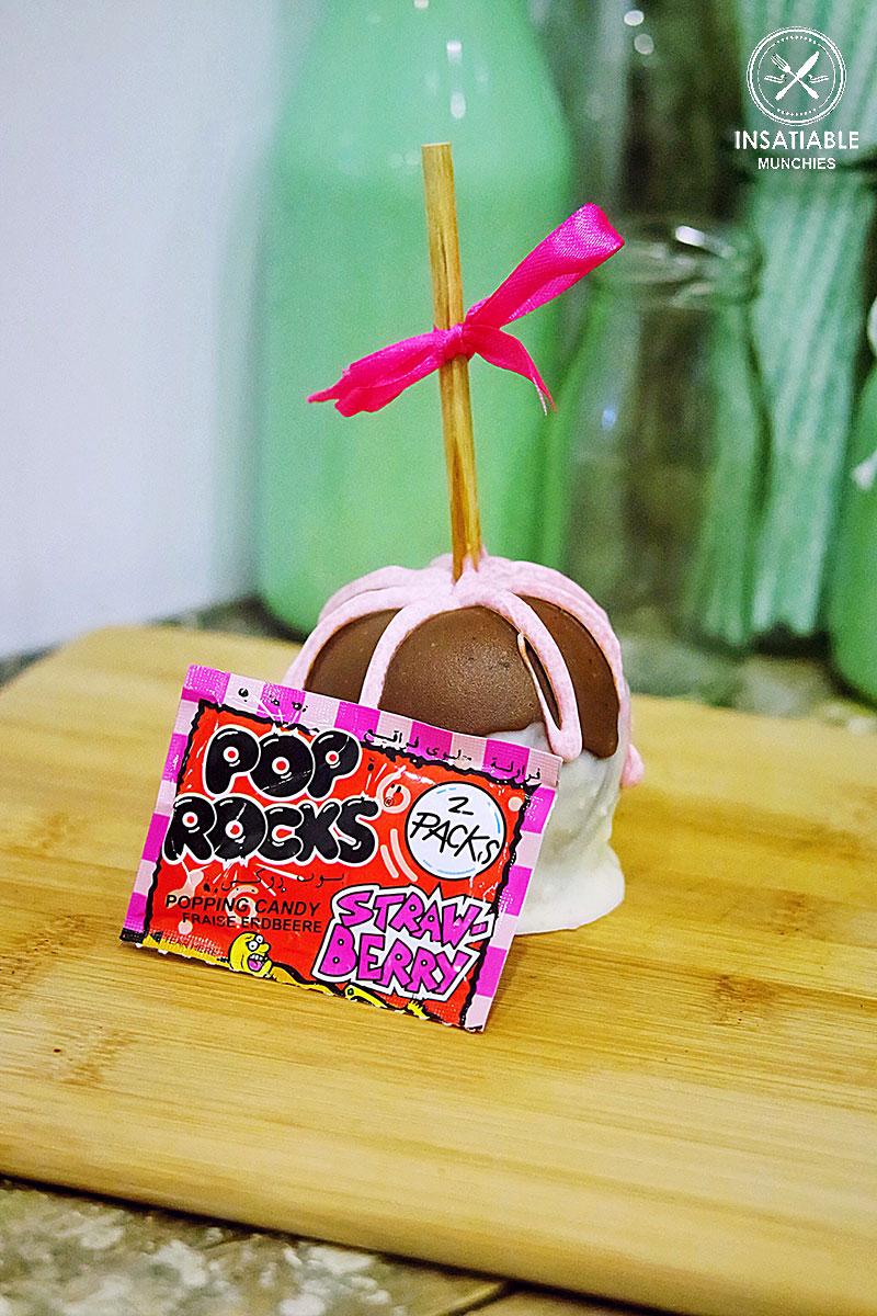 Strawberry Pop Rock Apple: Love Dem Apples, Surry Hills. Sydney Food Blog Review