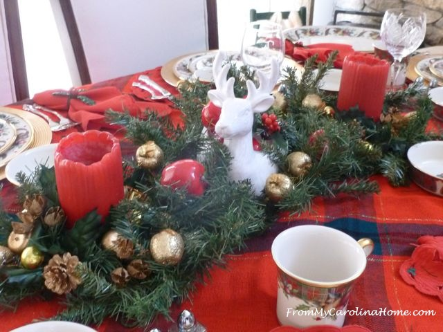 Christmas Tablescape   From My Carolina Home