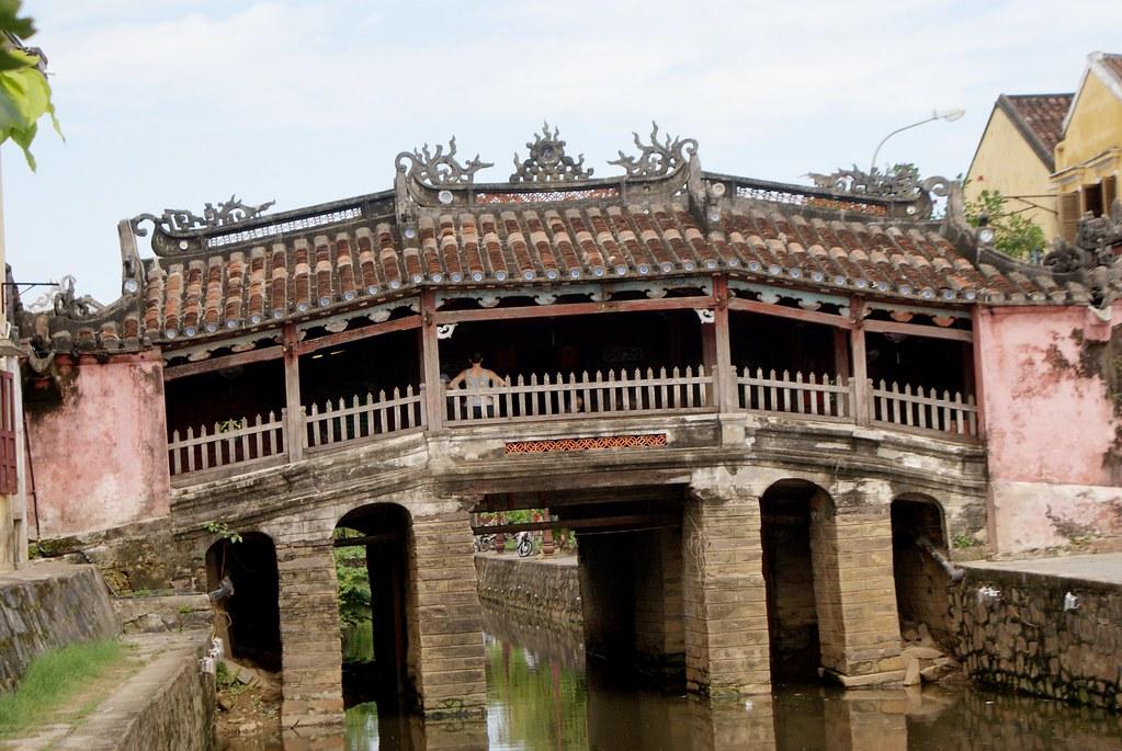 Pont pagode japonais construit en 1593 à Hoi An.