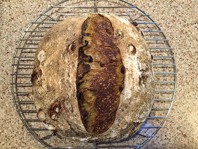 Matcha/Azuki Bread