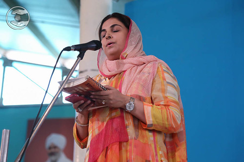 Devotional song by Sapna Monga from Kalkaji, Delhi