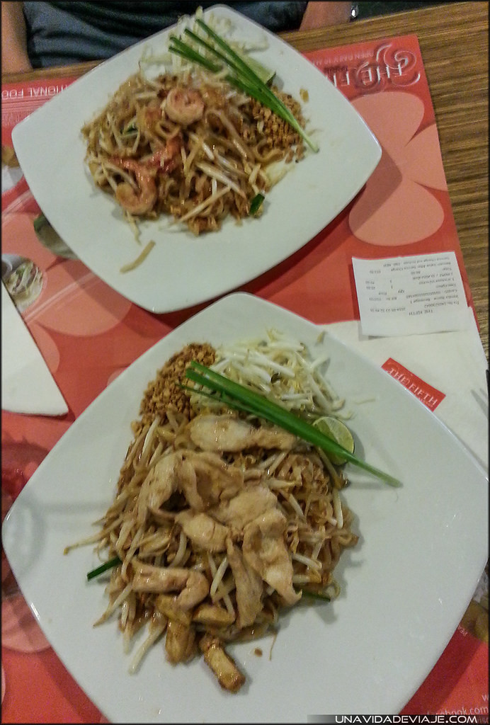 Tailandia Bangkok MBK comida