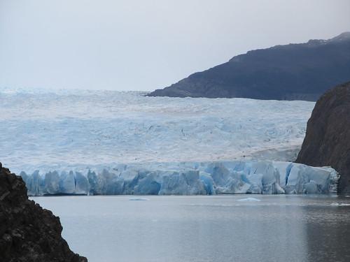 Torres del Paine: trek du W. Jour 4: le glacier Grey.