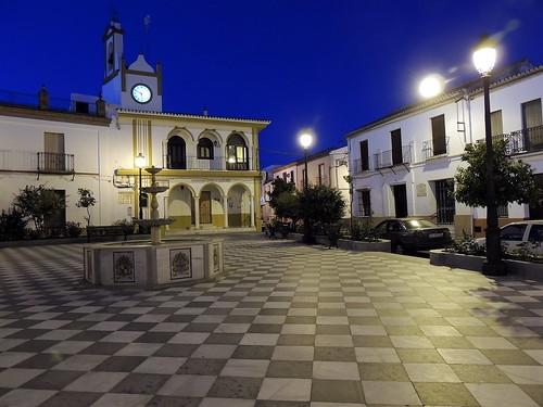<Plaza del Cabildo> Aznalcazar (Sevilla)